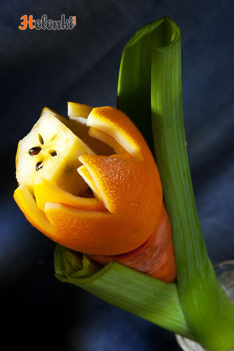 Апельсиновый тюльпан